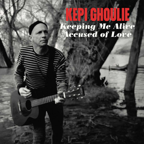 Kepi Ghoulie - Keeping Me Alive / Accused Of Love album cover