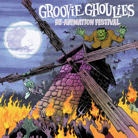 Groovie Ghoulies Re-Animation Festival album cover