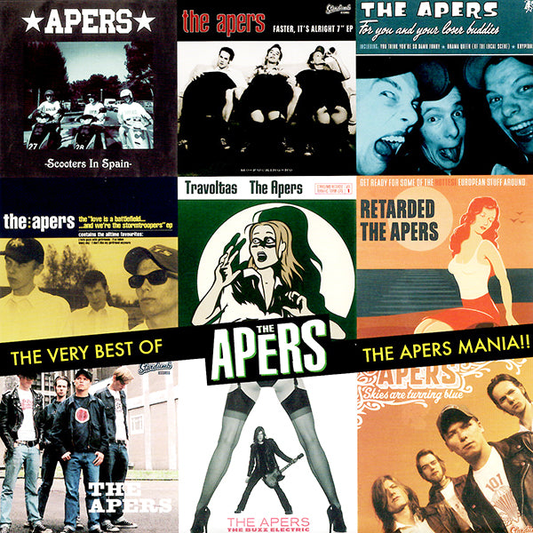 Apers ‎– The Very Best Of The Apers / The Apers Mania (CD)