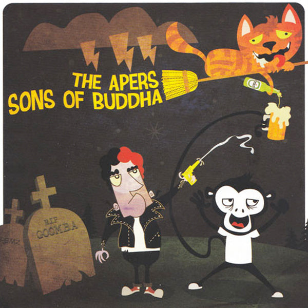 Apers / Sons Of Buddha - Split (CD)