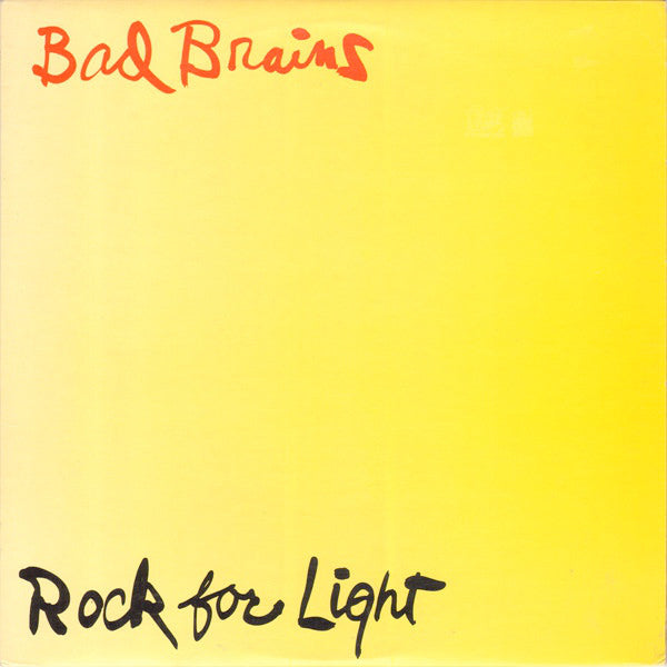 Bad Brains - Rock For Light (LP)