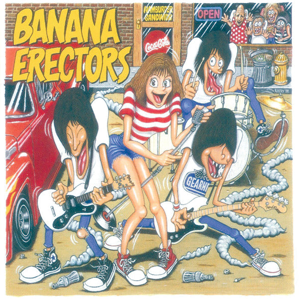 Banana Erectors ‎- Everything And More (CD)