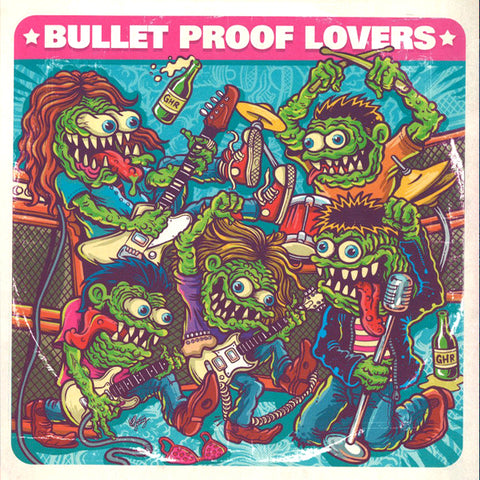 "Bullet Proof Lovers - I Am My Radio (7"")"