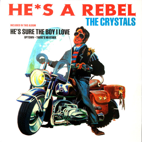 Crystals - He's A Rebel (LP)