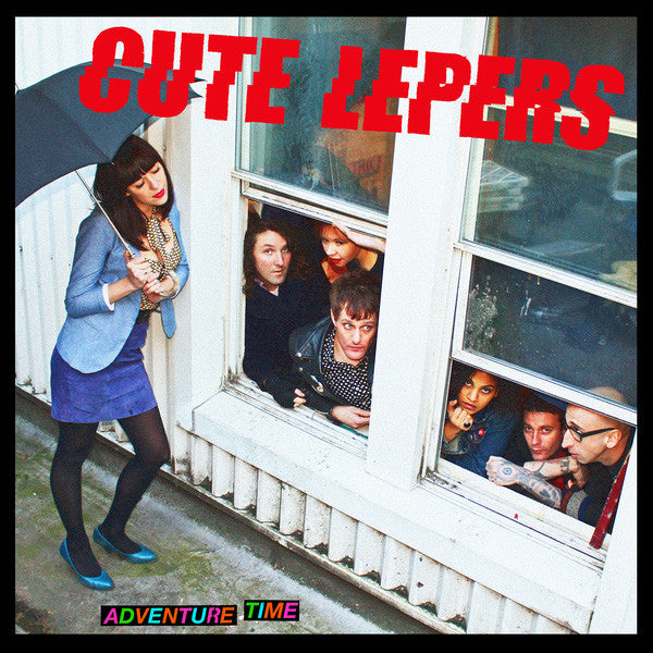 Cute Lepers - Adventure Time (LP)