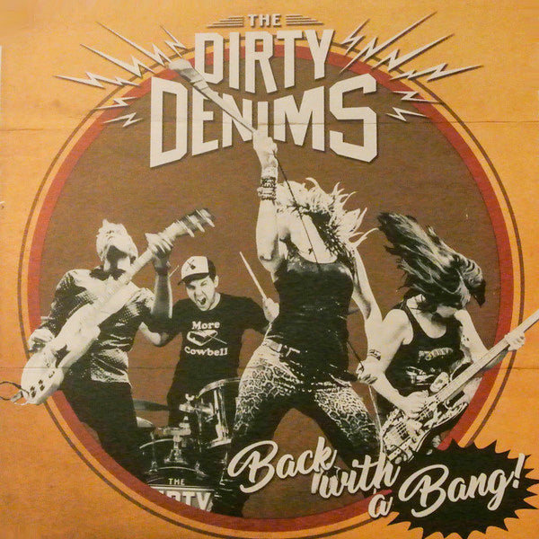 Dirty Denims - Back With A Bang (LP)