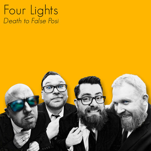 Four Lights ‎- Death To False Posi (CD)