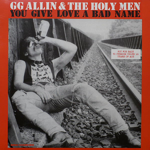 GG Allin & The Holy Men - You Give Love A Bad Name (LP)