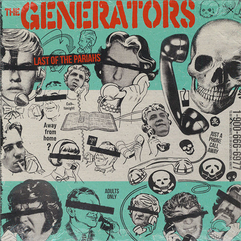 Generators - Last Of The Pariahs (LP)