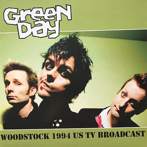 Green Day - Woodstock 1994 US TV Broadcast (LP)