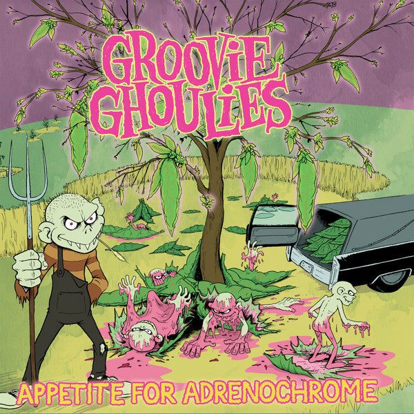 Groovie Ghoulies - Appetite For Adrenochrome (CD)