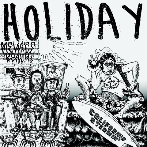 Holiday - California Steamin' (LP)