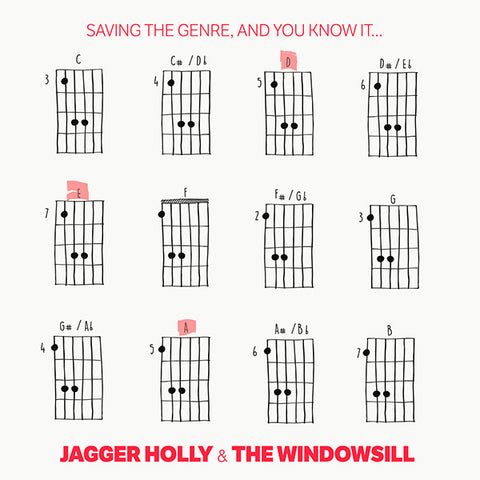 "Jagger Holly / Windowsill - Saving The Genre, And You Know It... (10"")"