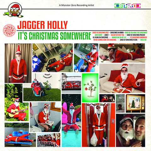 Jagger Holly - It's Christmas Somewhere (LP)