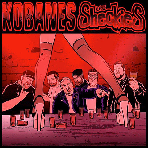 Kobanes / Sheckies - Split (CD)