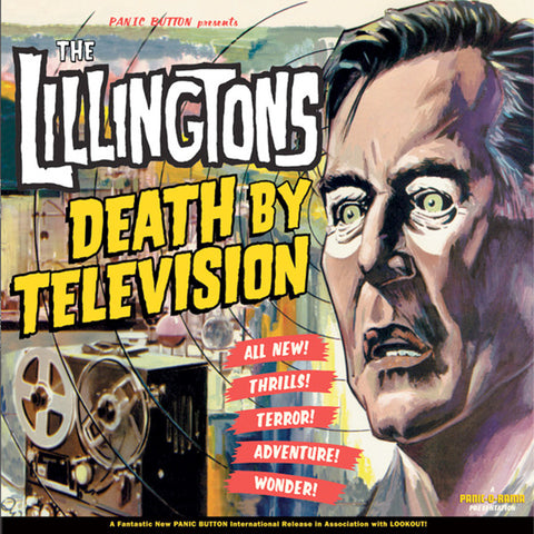Lillingtons - Death By Television (LP)