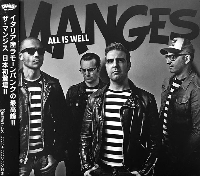 Manges ‎- All Is Well (CD)