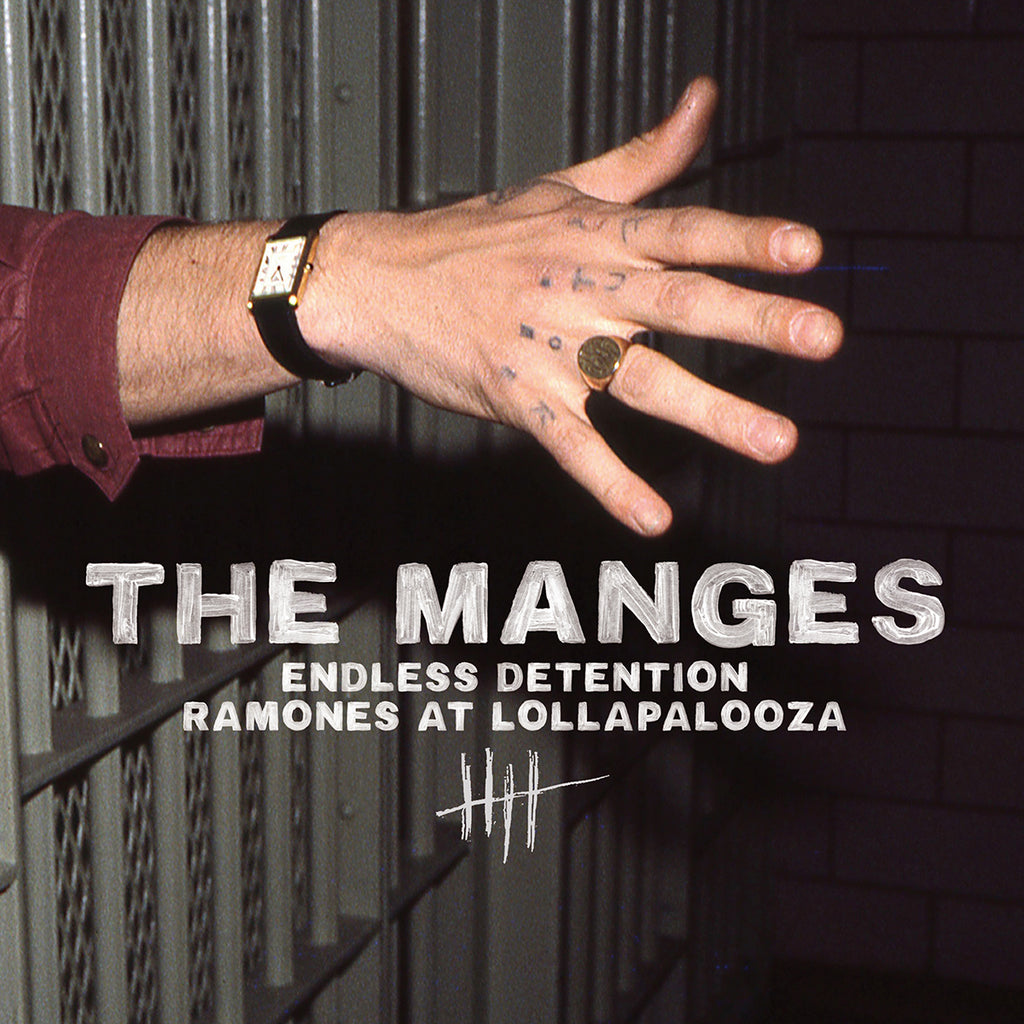 "Manges - Endless Detention / Ramones At Lollapalooza (7"")"