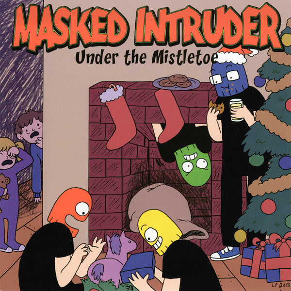 "Masked Intruder ‎- Under The Mistletoe (7"")"