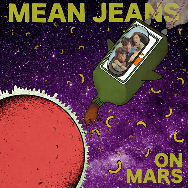 Mean Jeans - On Mars (LP)