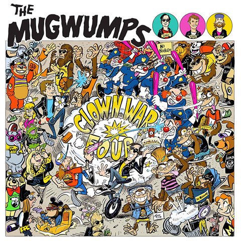 Mugwumps - Clown War Four (CD)