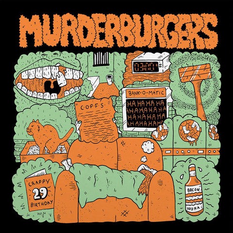 "Murderburgers - Shitty People And Toothache (7"")"