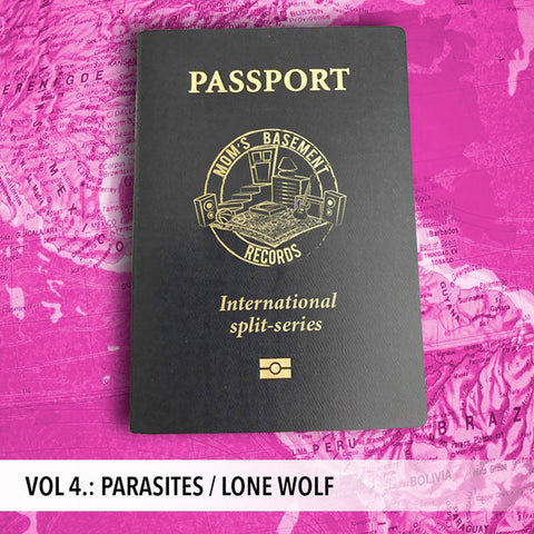 "Parasites / Lone Wolf - Passport International Split Series Vol. 4 (7"")"