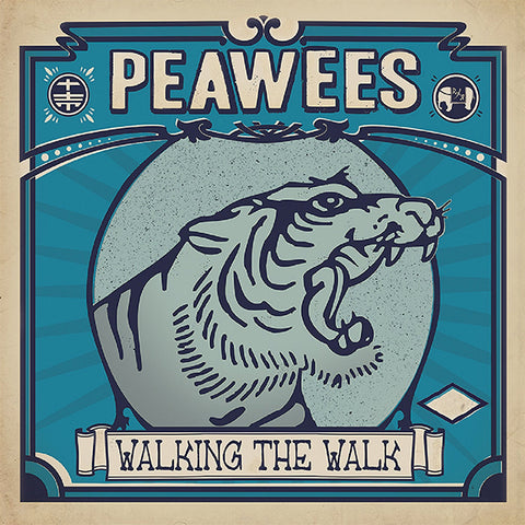 Peawees - Walking The Walk (CD)