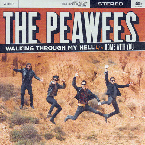 "Peawees - Walking Through My Hell (7"")"