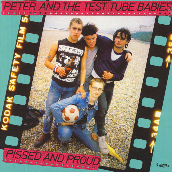 Peter And The Test Tube Babies - Pissed And Proud (LP)