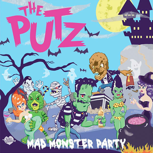 "Putz ‎- Mad Monster Party (12"")"