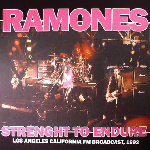 Ramones ‎– Strength to Endure (LP)