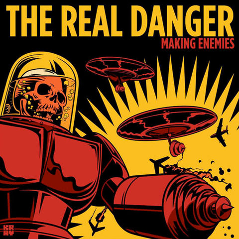 Real Danger - Making Enemies (CD)