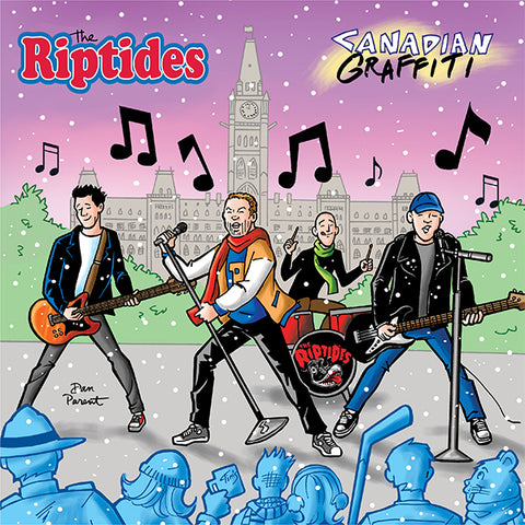 Riptides - Canadian Graffiti (LP)