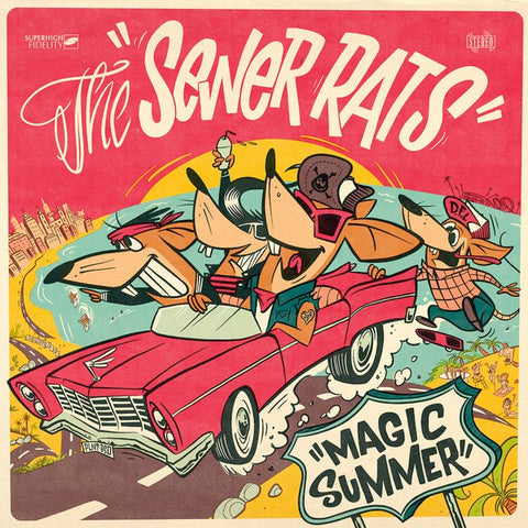 Sewer Rats - Magic Summer (LP)