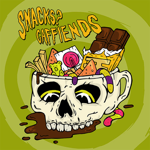 "Snacks? / Caffiends - Split (7"")"