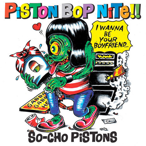 So-Cho Pistons - Piston Bop Nite!! (LP)