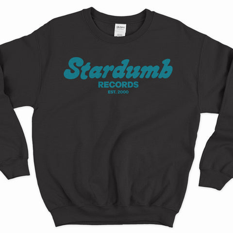 Stardumb Records (Black Crew Neck Sweater)