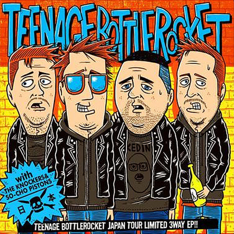 Teenage Bottlerocket ‎- Japan Tour Limited 3Way EP (CD)