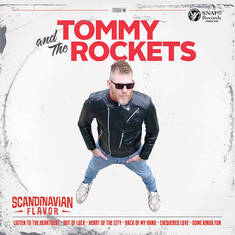 Tommy & The Rockets / Psychotic Youth - Scandinavian Flavor (LP)