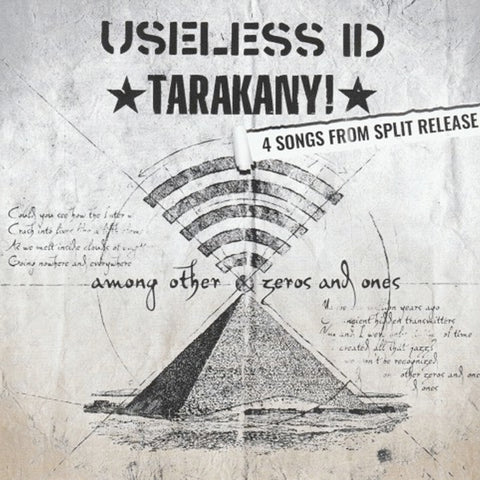 "Useless ID / Тараканы! - Among Other Zeros And Ones (7"")"