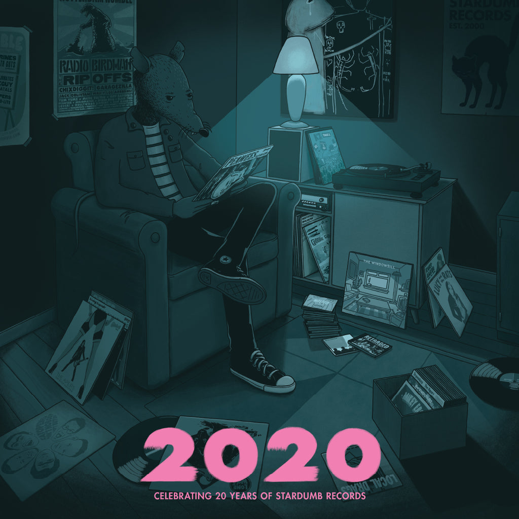 V/A - 2020 (Celebrating 20 Years of Stardumb Records) (CD)