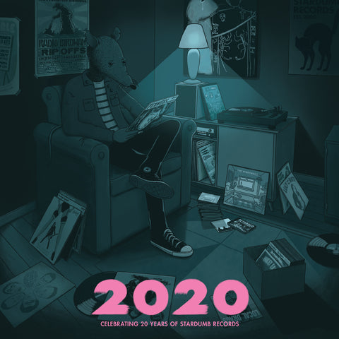 V/A - 2020 (Celebrating 20 Years of Stardumb Records) (2LP) (PRE-ORDER)
