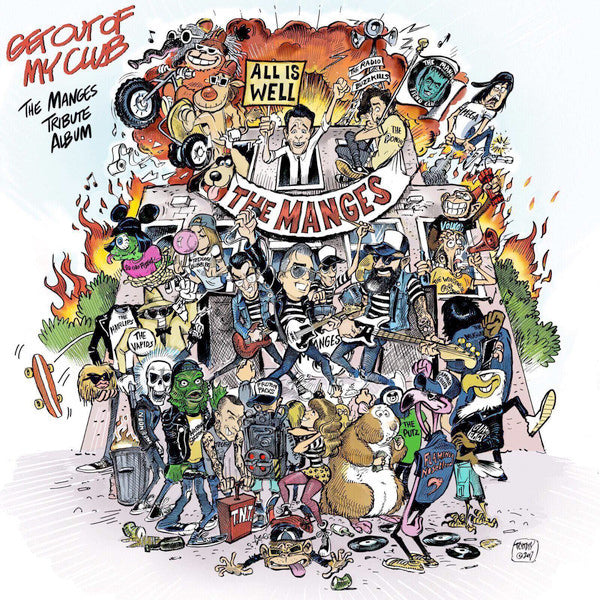 Various - Get Out Of My Club - The Manges Tribute Album (LP)