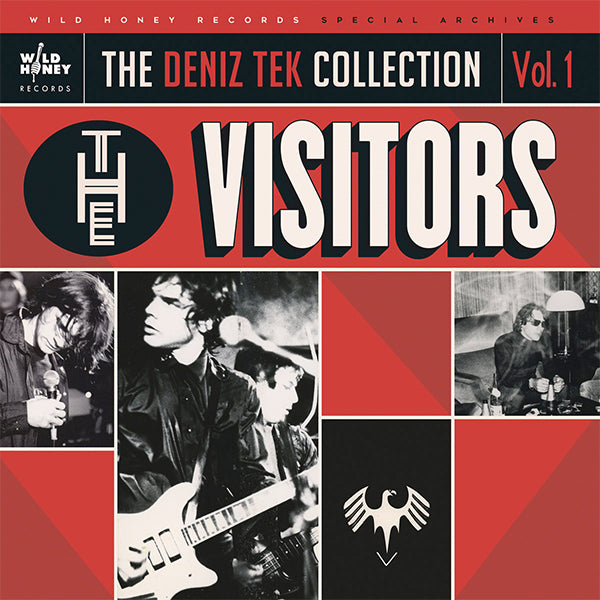 Visitors - The Deniz Tek Collection Vol.1 - The Visitors (LP)