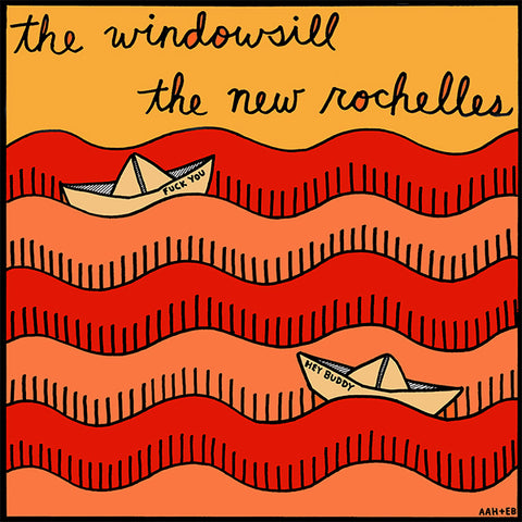 "Windowsill / New Rochelles - Split (7"")"