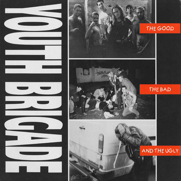 Youth Brigade ‎- The Good, The Bad And The Ugly (LP)