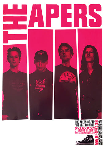 Apers - 'The Buzz Electric' Tour 2003 (Poster)
