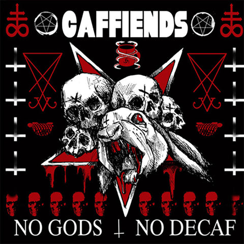 Caffiends - No Gods No Decaf (LP)