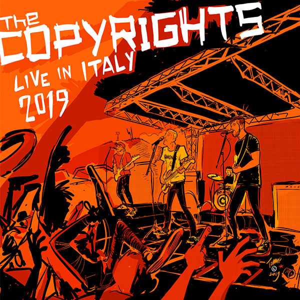 Copyrights - Live in Italy 2019 (LP)